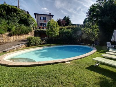 Photo for Villa in Lucolena In Chianti with 5 bedrooms sleeps 10