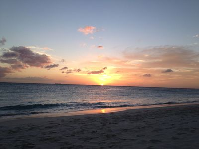 SUNSET FROM YOUR BEACH
