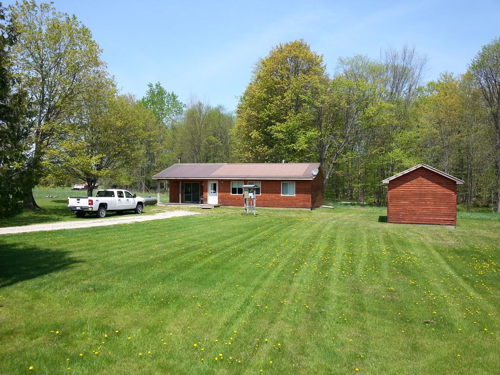 Michigan schoolcraft county germfask - Germfask Mi 2 Bedroom Cabin Perfect For That U P Getaway Clean And Quite