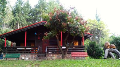 Photo for Authentic chalet with private park near Udine