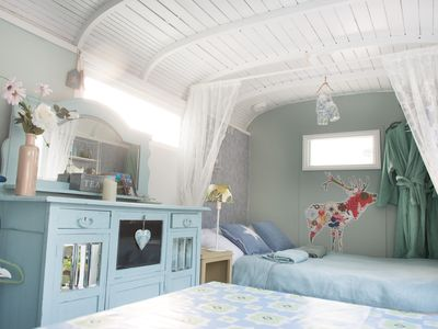 """Photo for Cozy b & b """"The Blue Cabin"""" close to Amsterdam"""