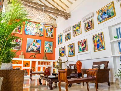 Photo for Luxury Villa, DownTown Cartagena, Breakfast and Staff Includes