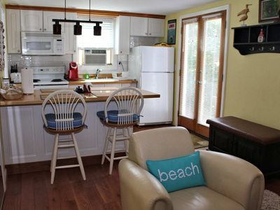 Photo for Cozy One Bedroom on Commercial--Private Patio, Parking, Walk to Beach