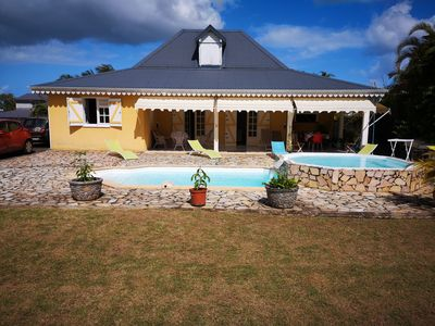 Photo for Beautiful villa with pool