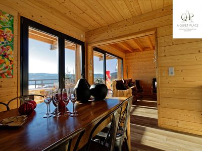"Photo for High Standard Chalet ""A QUIET PLACE"", with stunning views of Gerardmer"