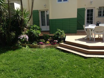 Photo for Lovely town house with garden in the heart of Biarritz