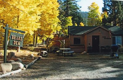 Photo for Mountain Charm Nessled In Aspens, Romantic, Rustic,  Private Cabin In The Villa