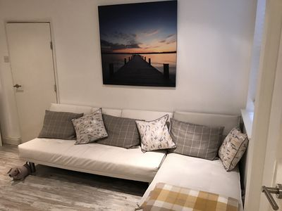 Photo for Lovely Appartment with Private Parking. Sleeps 2 Adults and 2 Children