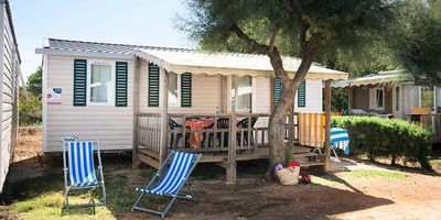 Photo for Camping Le Pansard **** - Air-conditioned 4-room mobile home 6 people