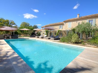 Photo for 5 bedroom Villa, sleeps 11 in Saint-Rémy-de-Provence with Pool and WiFi