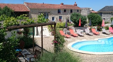 Photo for Luxury Farmhouse, Private Heated Pool, Free WIFI, Kids Play Area, Dogs Welcome