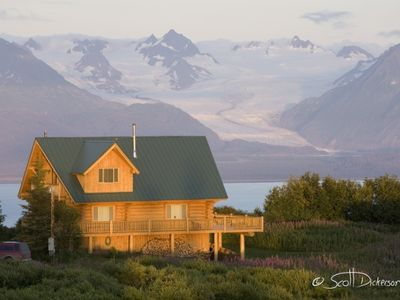 Photo for Gorgeous Log Home with Stunning View