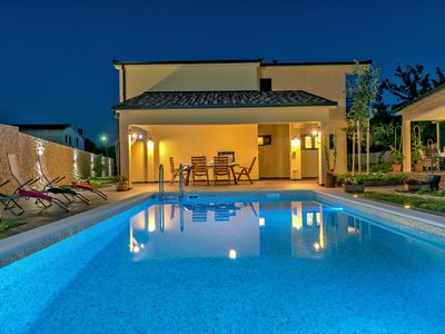 Photo for New! Luxurious Villa with private pool, outdoor kitchen & bathroom, playroom