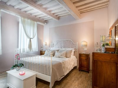 Photo for A Smart Designed Sweet Air Conditioned Apartment Inside the Walls of Lucca