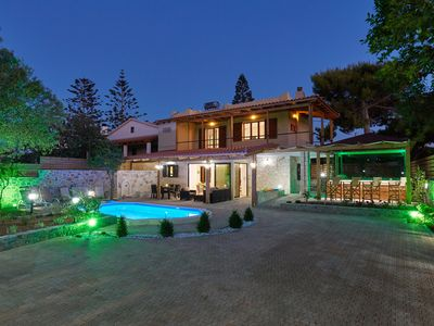 Photo for Your ideal holiday in Hersonissos in a Villa with a private pool and jacuzzi.