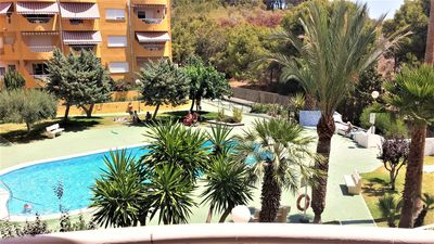 Photo for Apartment With Swimming Pool And Garden With Direct Beach Access