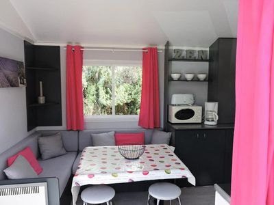 Photo for Camping Les Terrasses Provençales *** - Mobil home Sun Roller 3 rooms 4 persons