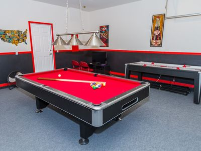 Luxury Villa South West Facing PoolSpa HomeAway Watersong - Electronic pool table