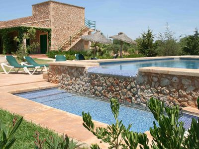 Photo for Air-Conditioned Holiday Home with Pool, Wi-Fi, Loggia and Terrace; Parking Available