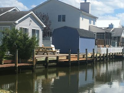 Photo for Waterfront with boat Dock, Dog Friendly, Fenced Yard, WIFI