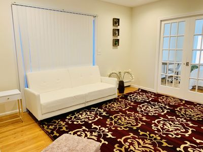 Photo for Cambridge 3 Bed, 3-minute walk to subway *parking* Harvard, MIT, Tufts, Boston