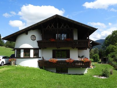Photo for 95m² newly renovated apartment in Halblech with mountain views in a prime location