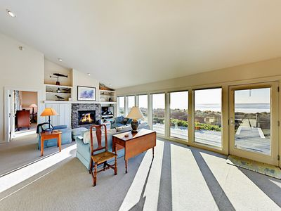 Photo for Charming 3BR Beachfront w/ Stunning Views – 13 Miles from Newport