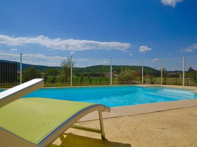 Photo for New villa with private pool Vallon Pont d'Arc