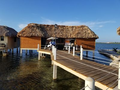 Photo for 1 Bed Overwater Cabana (Duplex) w/ private pool