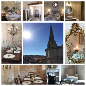 Photo for Luxury penthouse apartment in centre of St Rémy with amazing views from terrace