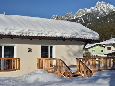 Photo for NEW!! Cottage for 2 - 4 persons with balcony, veranda and garden in Reutte