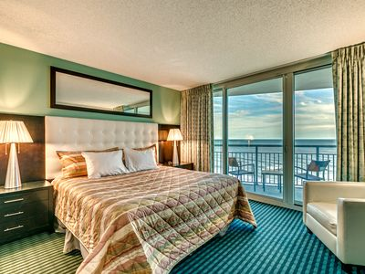 Photo for Gorgeous 2 Bds/2 Ba Condo, Ocean Front Master Bed, 2 Balcony *Last Min Special *