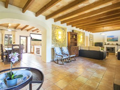 Photo for Vacation home Can Damianet in Búger - 8 persons, 4 bedrooms