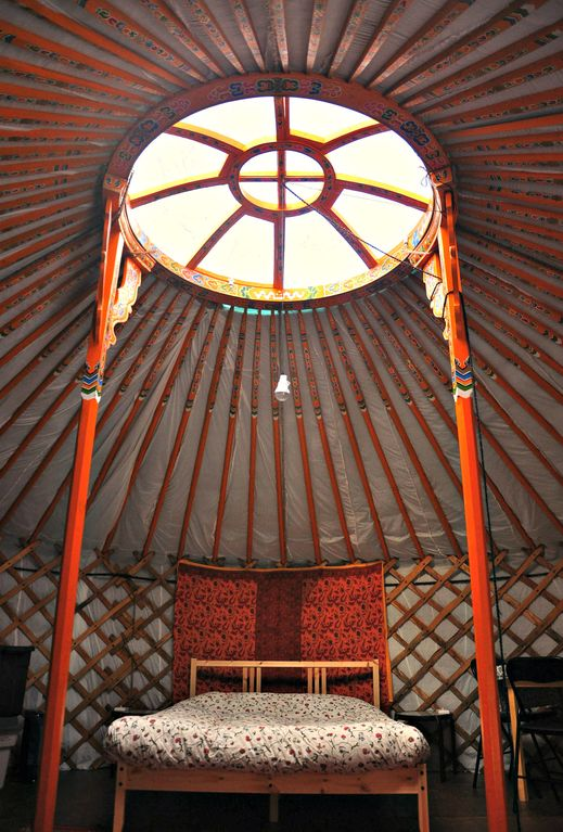 Experience A Mongolian Or Cedar Yurt At Cab Vrbo