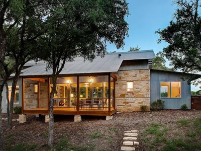 Photo for Luxury Retreat in DWELL magazine!  Burning Creek Hill Country Retreat w/ Pool!