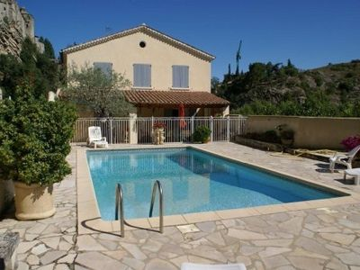 Photo for Independent house av térrasse & private pool in Vaison la Romaine (VAUCLUSE)