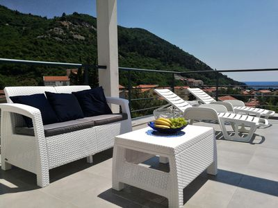 Photo for Beautiful penthouse with fantastic panoramic terrace