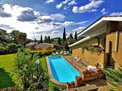Photo for Casa Paola is a nice property less than 20 km from Rome, with sharing pool walking distance to all s