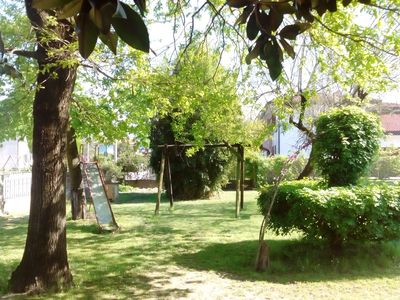 Photo for Apartment 75 sq m ground floor garden 1-8 persons Noventa di Piave VENICE
