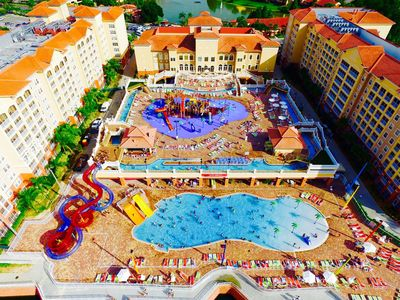 Photo for Westgate Town Center - 2BR 2BA 7 Ngt Max Luxury Resort/Waterpark close to Disney