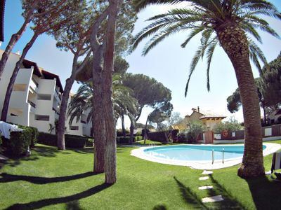 Photo for Pinos apartment, near the beach and port of l'Escala, POOL, TERRACE, 4P
