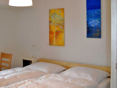 Photo for Double Room 2 - Blue - Holiday on the organic farm