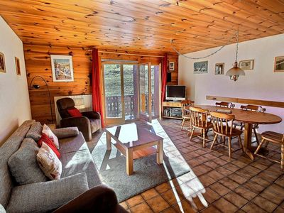 Photo for SKI-IN / SKI-OUT Les Crosets, ski on feet, 2 bedrooms, wifi, and indoor parking space (6-W)