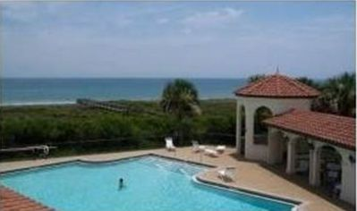 Photo for Surf Club I - 1107 Beautiful Ground Floor/Ocean View/Huge Patio/Wi-F