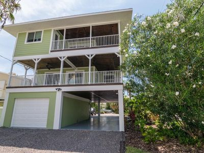 Photo for 2BR 2BA Overlooks Bay, Trolley One Block Away to Shops, Restaurants and More