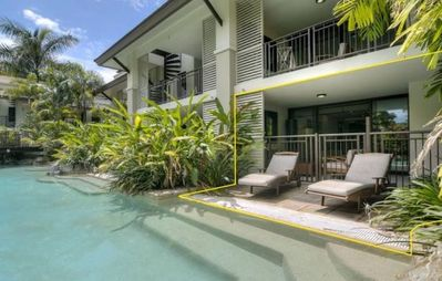 Photo for Sea Temple Port Douglas 2 Bedroom Swimout