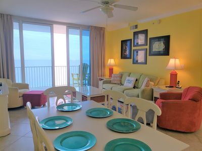 Photo for Enjoy the fall season in this direct gulf front condo- San Carlos 1604