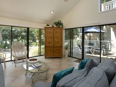 Photo for SeaPines, Pet friendly, On site pool and tennis, Golf view