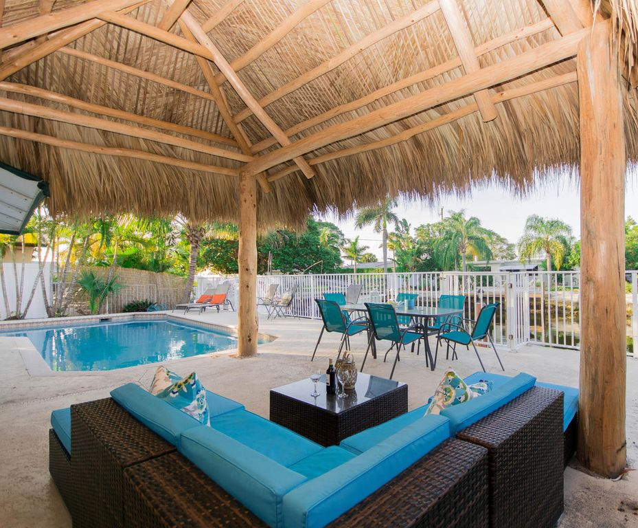 realestate gizmo pompano isles tiki hut vacation home rental - Tiki Hut