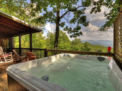 Photo for Incredible Views/ Hot Tub/ Pet Friendly! Great Location! Great Value!